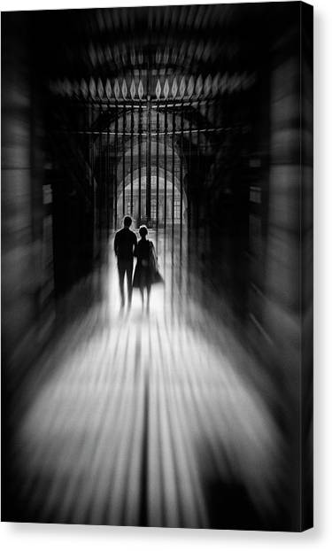 Marriage Canvas Print - L'union by Eric Drigny