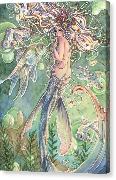 Sprite Canvas Print - Lusinga by Sara Burrier