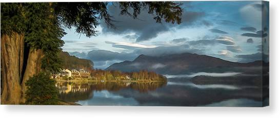 Luss Loch Lomand Canvas Print