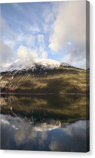 Lutak Inlet Reflections Canvas Print