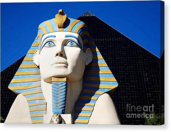 Luxor Las Vegas Sphinx Canvas Print