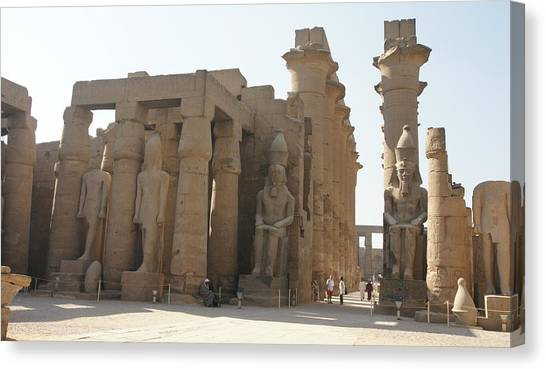 Luxor Temple Canvas Print