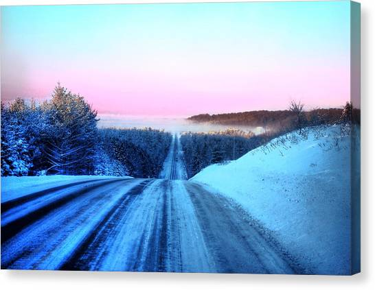 Canvas Print - Lwv50007 by Lee Wolf Winter