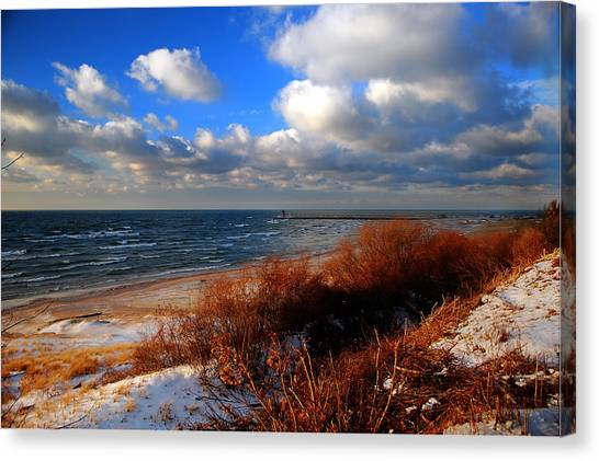 Canvas Print - Lwv50027 by Lee Wolf Winter