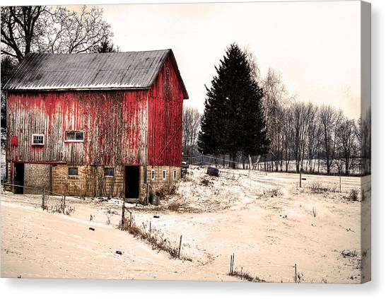 Canvas Print - Lwv50029 by Lee Wolf Winter