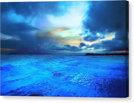 Canvas Print - Lwv50030 by Lee Wolf Winter