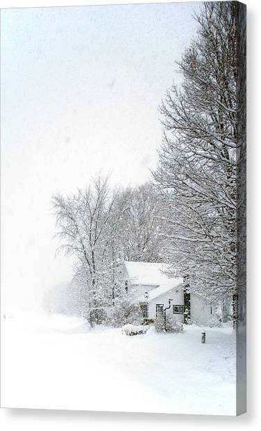 Canvas Print - Lwv50031 by Lee Wolf Winter