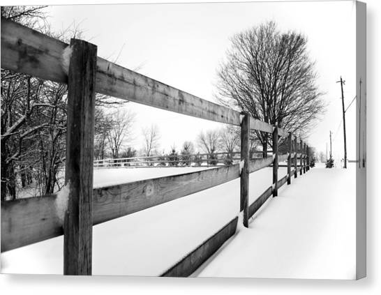Canvas Print - Lwv50041 by Lee Wolf Winter