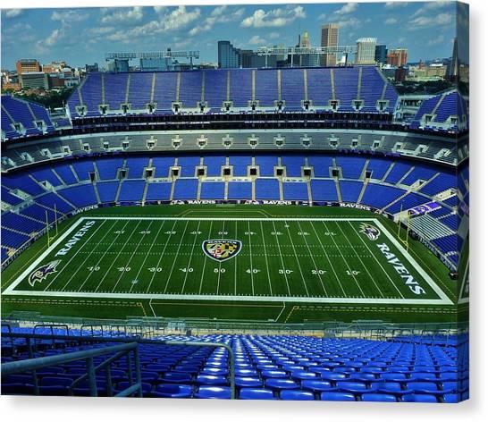 M And T Bank Stadium Canvas Print