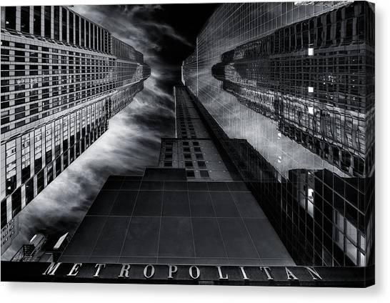 Tower Canvas Print - M E T R O P O L I T A N by Javier De La