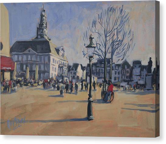 Maastricht On The Last Day Of 2014 Canvas Print