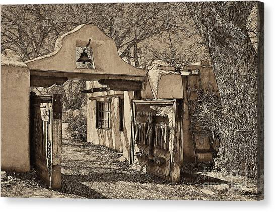 Dennis Hopper Canvas Print - Mabel's Gate - A Different View by Charles Muhle
