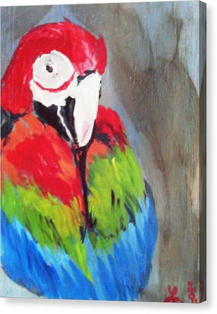 Macaw 2 Canvas Print