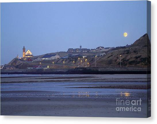 Macduff Moonlight Canvas Print by Phil Banks