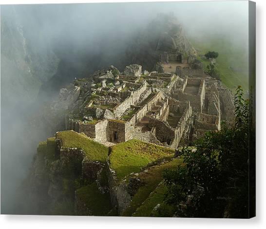 Machu Picchu Peru 2 Canvas Print
