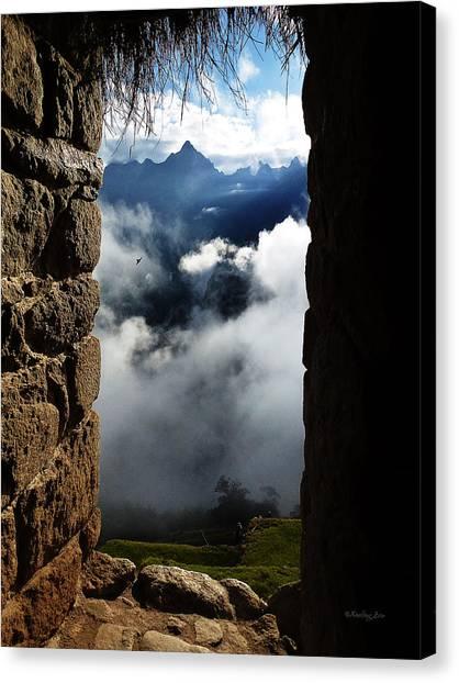 Machu Picchu Peru 4 Canvas Print