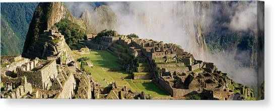 Andes Mountains Canvas Print - Machu Picchu, Peru by Panoramic Images