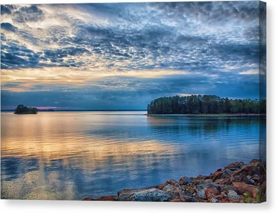 Mackerel Sunset Canvas Print
