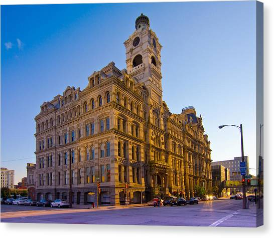 Mackie Building Canvas Print by Anthony Sell