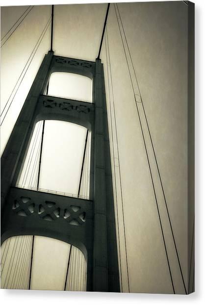 Mackinac Bridge 2.0 Canvas Print