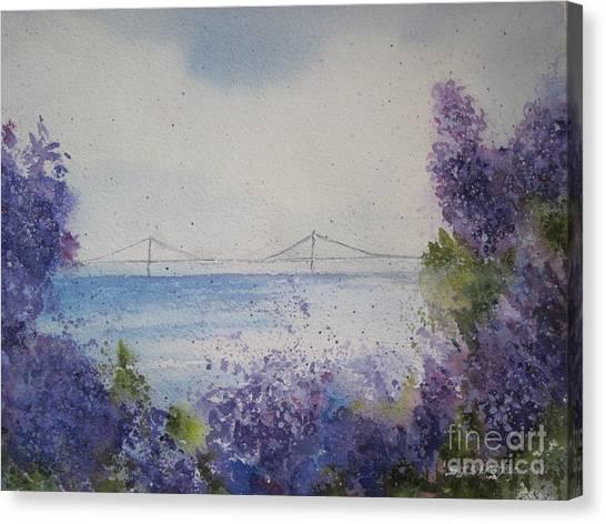 Mackinac Island Lilacs Canvas Print