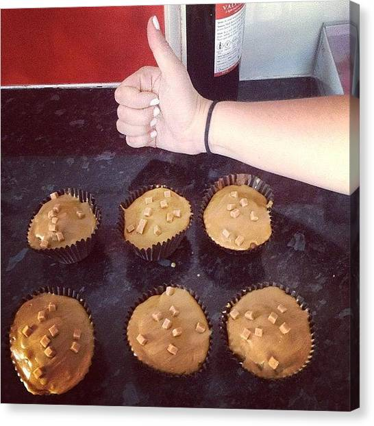 Pepper Canvas Print - Made Cakes With Jess #cakes #caramel by Abigail Pepper