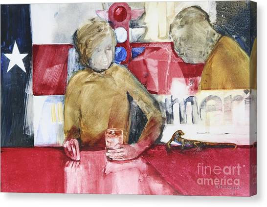 Made In America Canvas Print by Helen Hayes