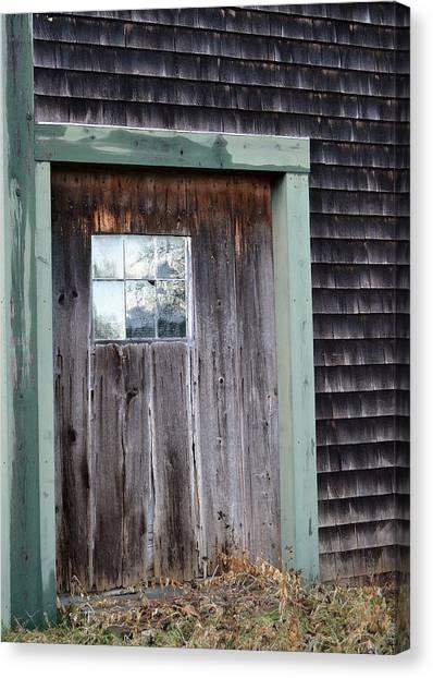 Madeline's Barn - Light In The Dark Canvas Print by Nina-Rosa Duddy