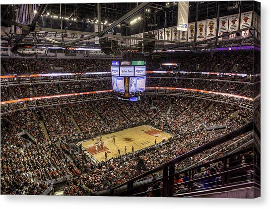 Phoenix Suns Canvas Print - Madhouse On Madison by Greg Thiemeyer