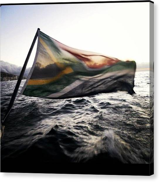 South African Canvas Print - Madiba Forever by Maddie Yardley