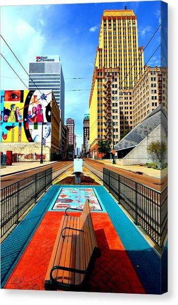 Madison's Memphis Canvas Print
