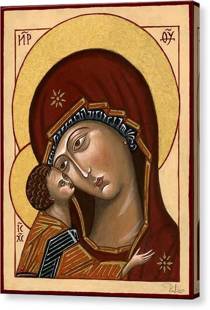 Madonna Della Tenerezza - Our Lady Of Tenderness Canvas Print