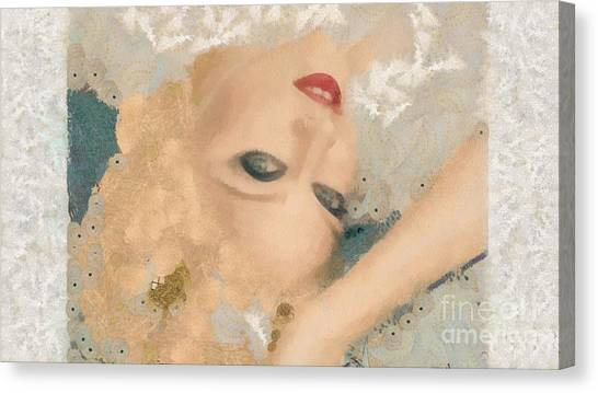 Madonna Wow Canvas Print