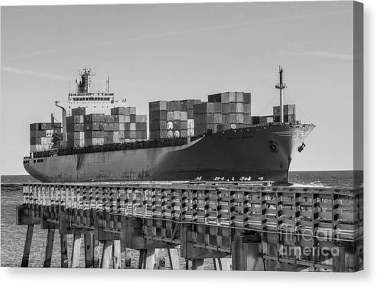 Maersk Shipping Line Canvas Print