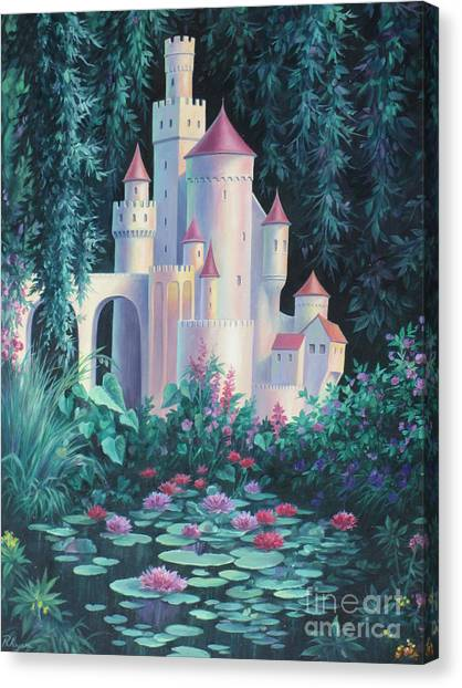 Magic Castle Canvas Print