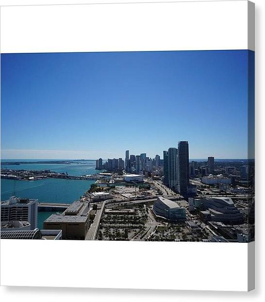 Iger Canvas Print - Magic City Skyline by Joel Lopez