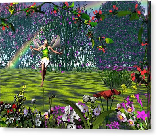 Magic Garden Canvas Print