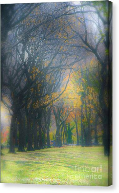 Magic. Here. In Nyc Canvas Print