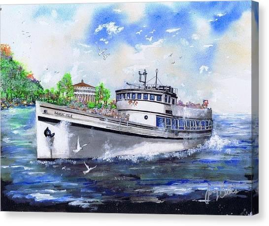 Magic Isle Canvas Print