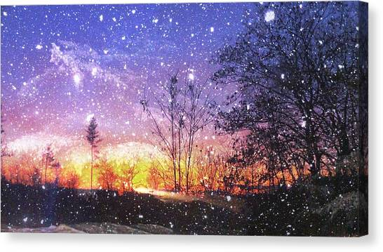 Magic Of Maine Canvas Print