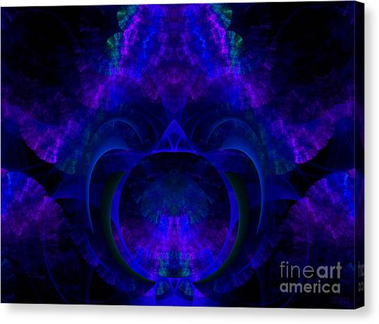 Magic Of Night Canvas Print