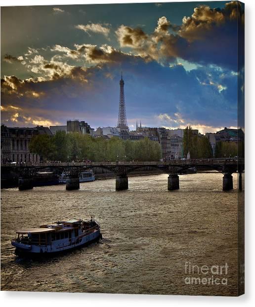 Magic Paris Canvas Print