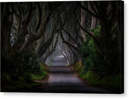 Goal Canvas Print - Magic Road by Piotr Galus