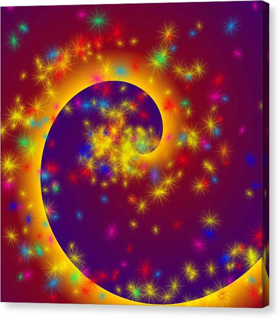 Magic Spiral Canvas Print
