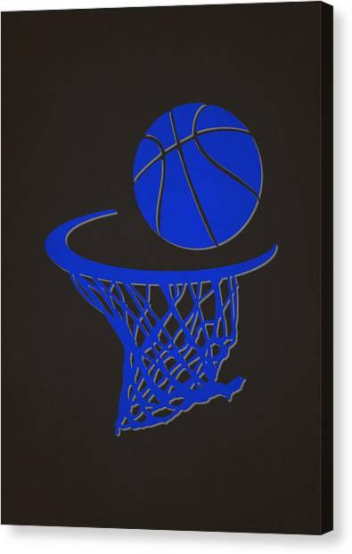 Orlando Magic Canvas Print - Magic Team Hoop2 by Joe Hamilton