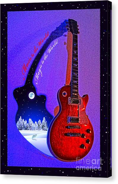 Magic To The World... Music To The World .2 Canvas Print
