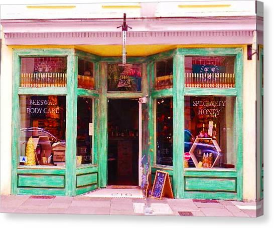 Magical Beeswax Shop Canvas Print