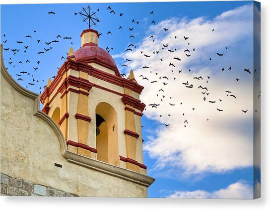 Christian Canvas Print - Magical Bell Tower In Mexico by Mark E Tisdale