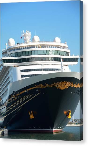 Magical Cruise Canvas Print