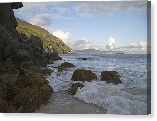 Patrick Canvas Print - Magical Evening Keem Beach Ireland by Betsy Knapp